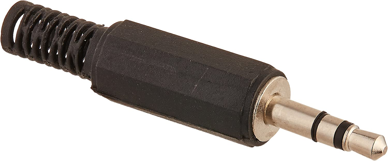 Plug male Straight STEREO Jack 3,5mm for pipes KS3PC-AU Jack-steckv