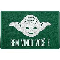 Capacho/Tapete - Bem Vindo Você É, Beek Geek's Stuff, CAP-BVINDO, Verde, 60 x 40 cm