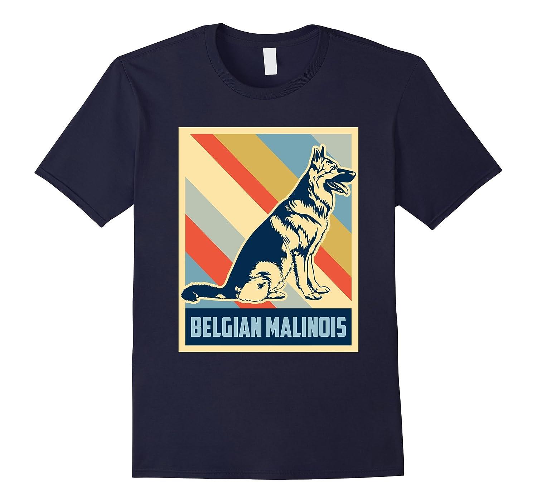 Belgian Malinois Shirt Retro Funny Gift For Lover Dog-FL