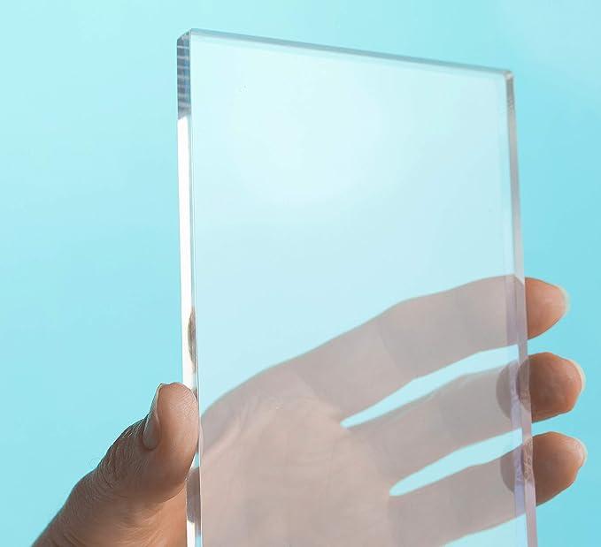 2 mm, 900 x 800 mm Acrylglas Zuschnitt Plexiglas Zuschnitt 2-8mm Platte//Scheibe klar//transparent
