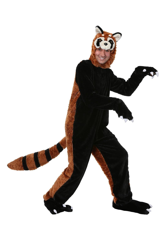 Fun Costumes Erwachsener roter Panda - XL