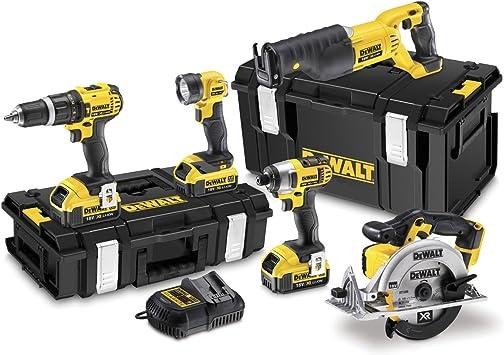 Dewalt DCK591M3-GB - Juego de herramientas eléctricas (18 voltios ...