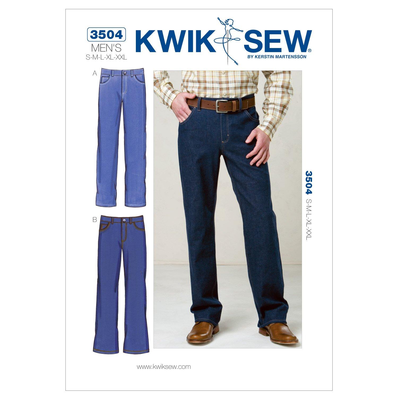 Kwik Sew 3504 - Patrón de costura para confeccionar pantalones ...