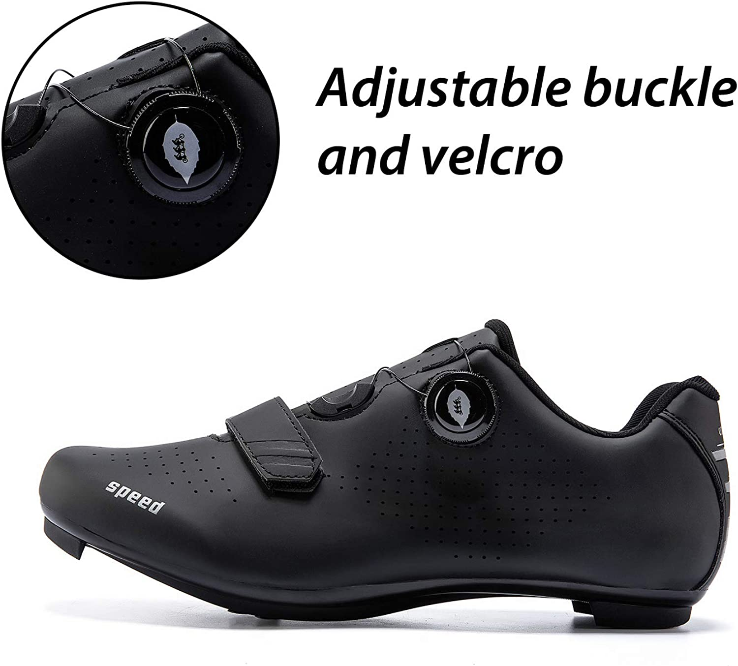 Mens or Womens Road Bike Cycling Shoes Peloton Bike Shoes Compatible with Cleat SPD Riding Shoe Indoor//Outdoor