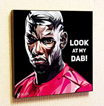 3d7833fdbe582 Amazon.com: Paul Pogba Manchester United MU Football Club ...