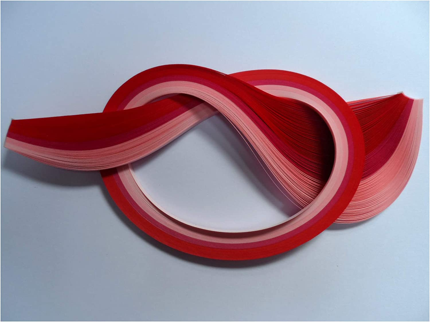 Quilling Paper 5mm 100 strips Reds
