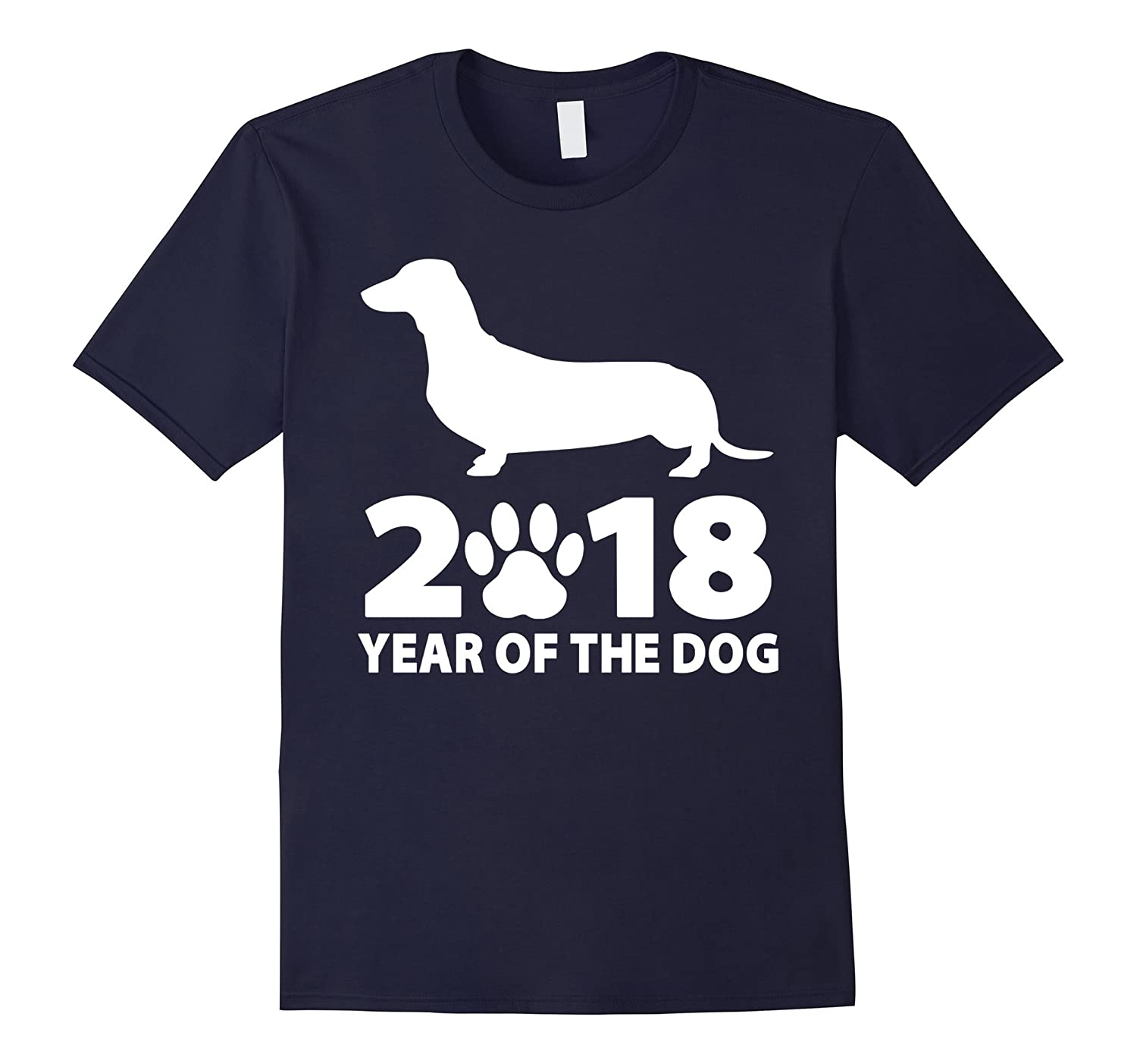 2018 Year Dachshund Dog T shirt-Teesml