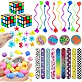 Fun Birthday Party Favors for Kids, Goodie Bag Filler, Classroom Rewards, Party Toys, Carnival Prizes, Pinata Fillers, Kids Prizes Toy, Treasure Box Toys, Classroom Prizes - School Supplies Bulk Toys