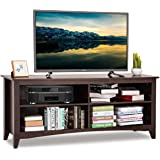 Amazon Com Whalen Furniture Santa Fe 3 In 1 Tv Stand Kitchen Dining