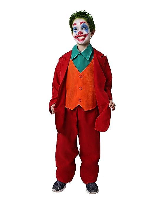 Costumizate! Disfraz de Payaso Asesino para niños Adulta ...