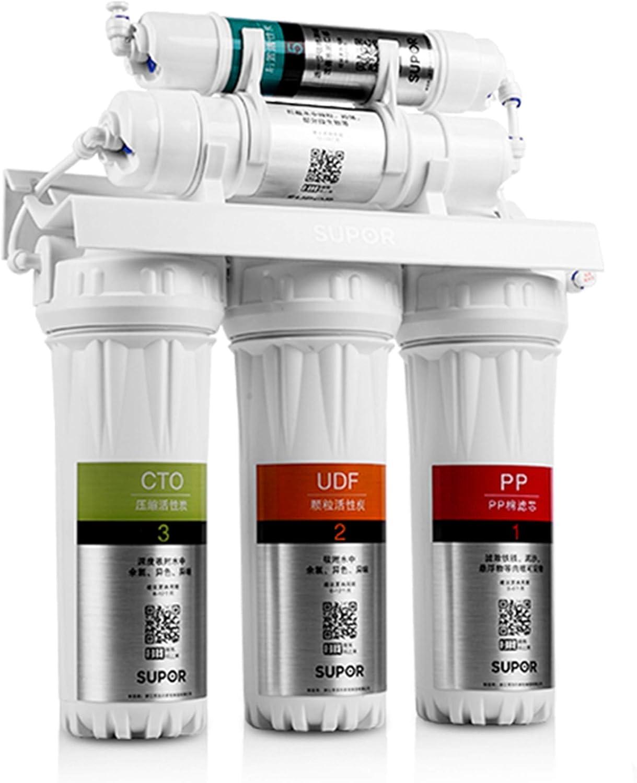 LIANGJING Purificador de Agua del Filtro de Agua del Grifo doméstico Filtro prefiltro de Cocina Filtro de 5 Niveles Retener minerales: Amazon.es: Hogar