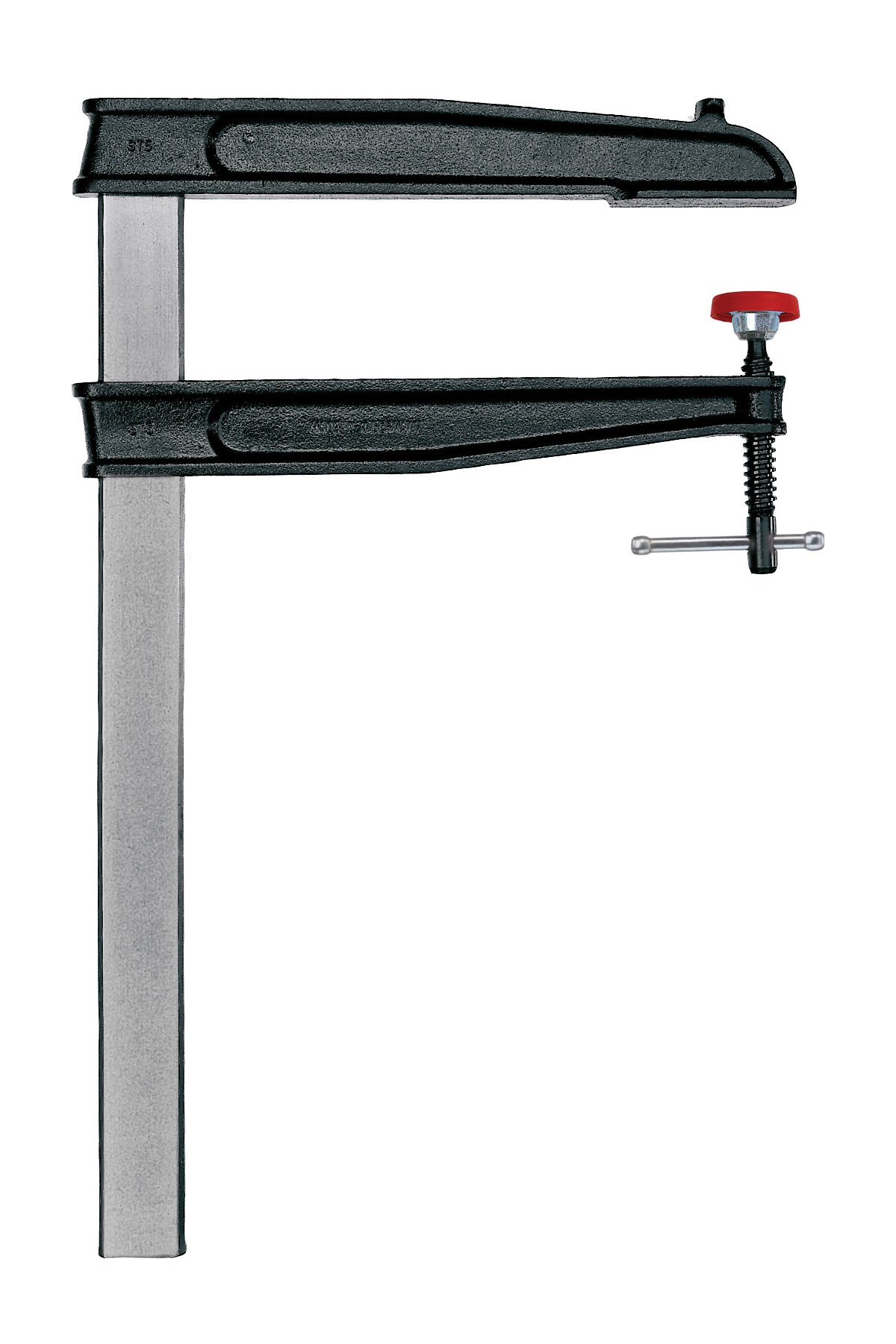 Bessey CDS24-12WP 12-Inch Throat x 24-Inch Opening Heavy Duty Tradesmen Bar Clamp by Bessey