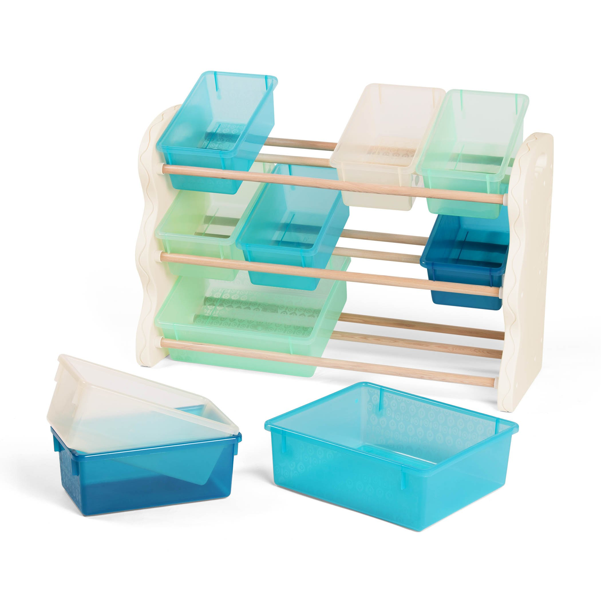 B Spaces By Battat Totes Tidy Toy Organizer Kids Furniture Set