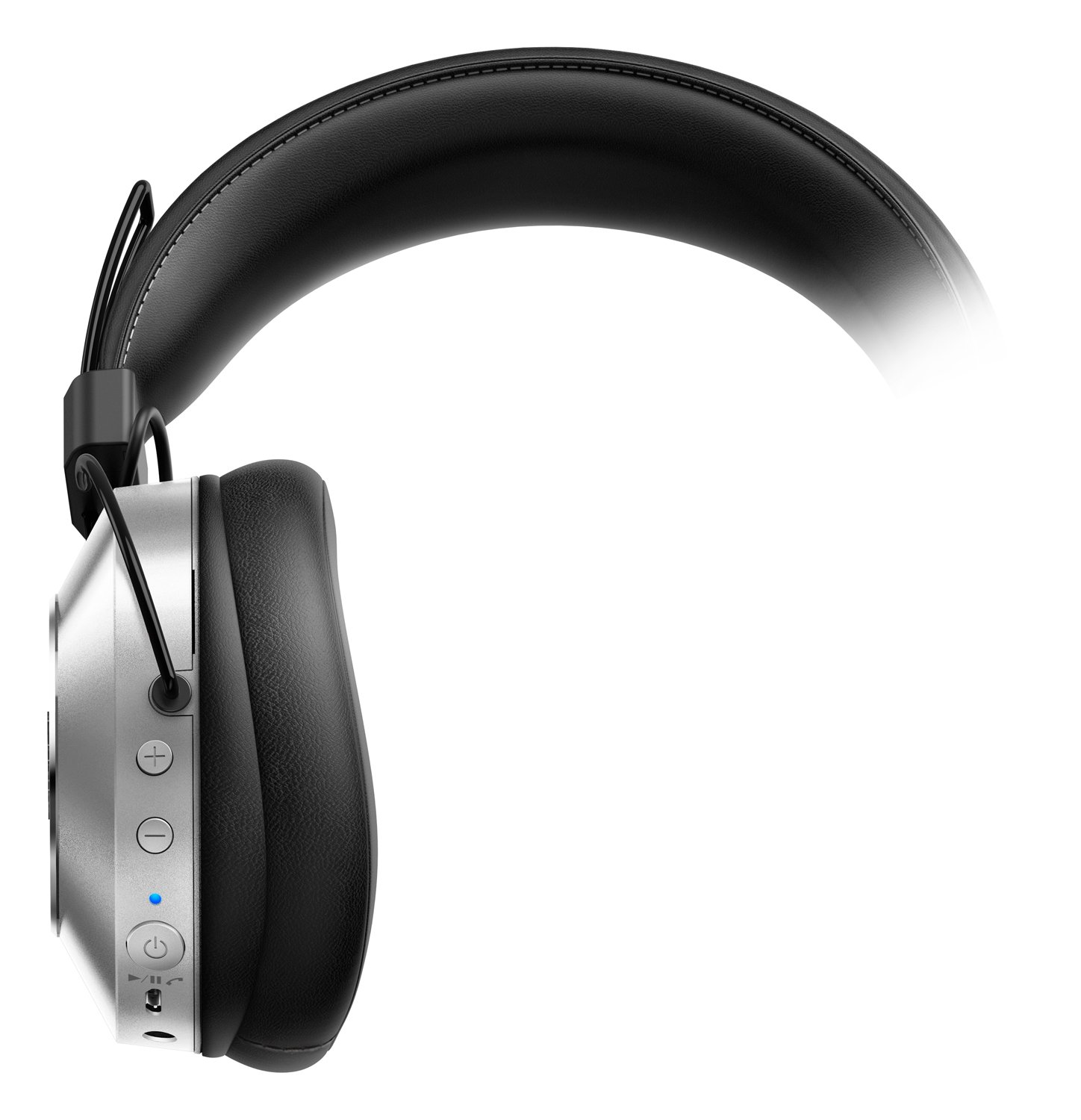 pioneer bluetooth headphones. amazon.com : pioneer se-ms7bt-s high resolution compatible dynamic sealed bluetooth headphone (silver) camera \u0026 photo headphones