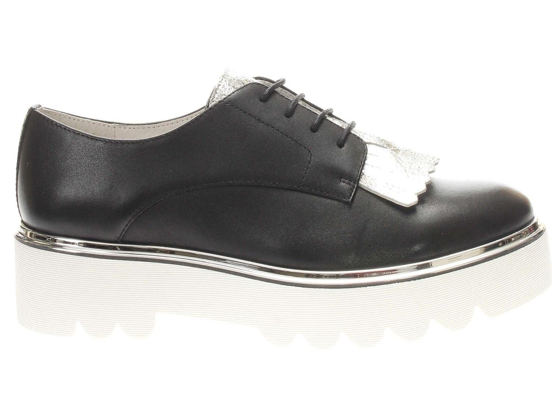 CAFèNOIR KEA113 Zapato de Vestir Mujer 37 EU|010 Nero