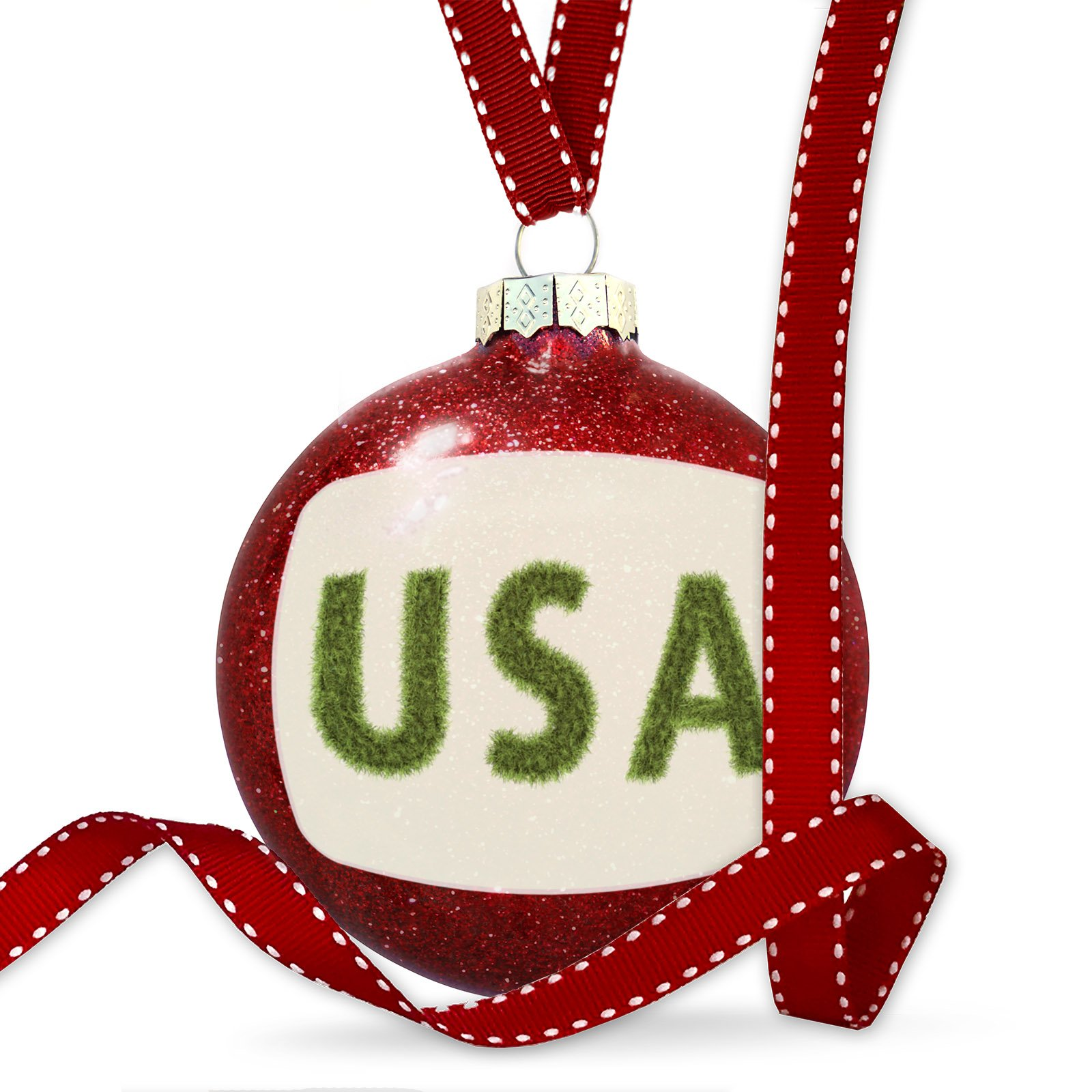 Christmas Decoration United States of America Field Grass Ornament