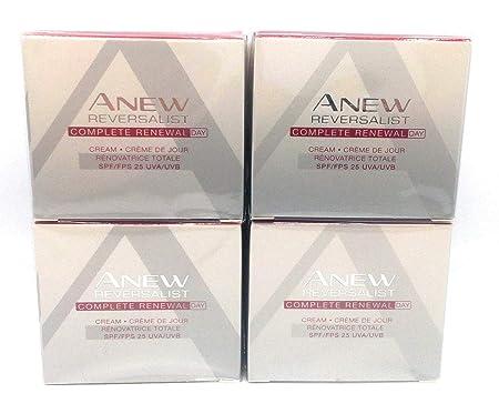 4 x AVON Anew Reversalist Complete Renewal Day Cream 50ml – 1.7oz SET