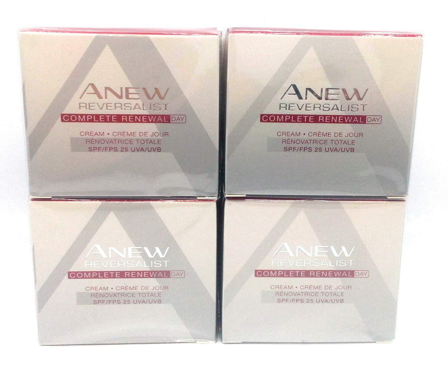 4 x AVON Anew Reversalist Complete Renewal Day Cream 50ml - 1.7oz SET !