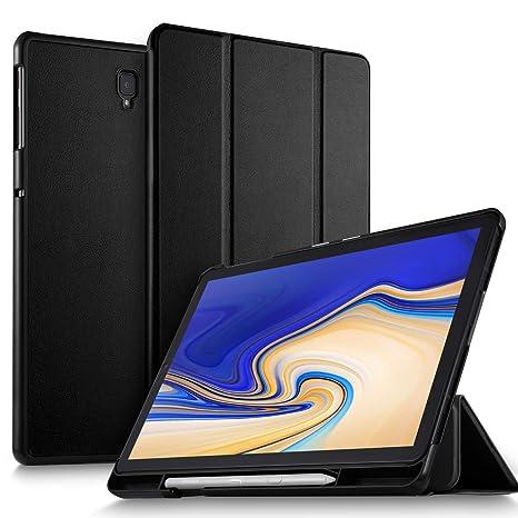 24a0cbbef4cdd ELTD Coque Housse Étui pour Samsung T830/T835 Galaxy Tab S4 10.5, avec Porte