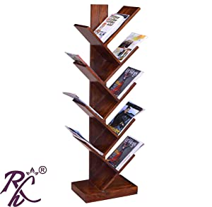 RAJ HANDICRAFT Tree Shape Book Shelf
