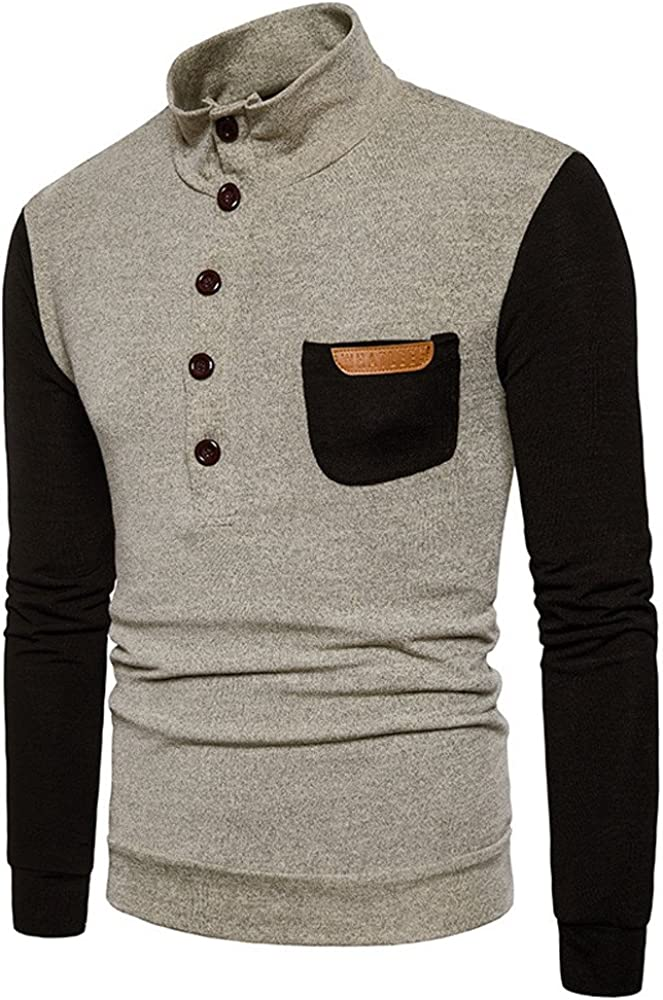 Suéter de Invierno de otoño para Hombre Jersey Suelta Jersey de ...