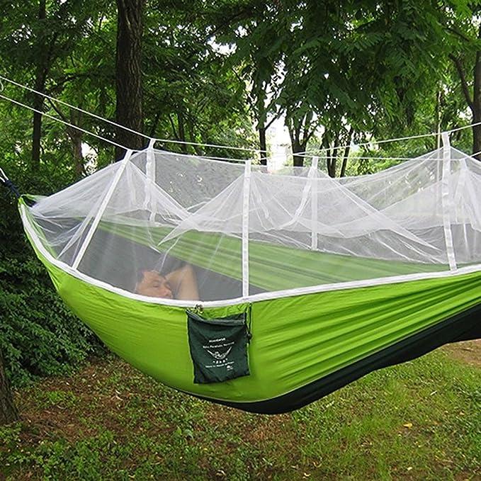 Hamaca Militar para la Selva, mosquitera para Camping, Viajes ...