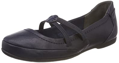 24224, Mary Jane Femme, Bleu (Navy Antic), 39 EUMarco Tozzi