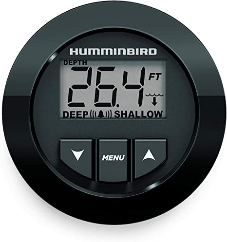Humminbird 3005.7088 Digital Depth Gauge In Dash 407860 1 HDR650 White Black New