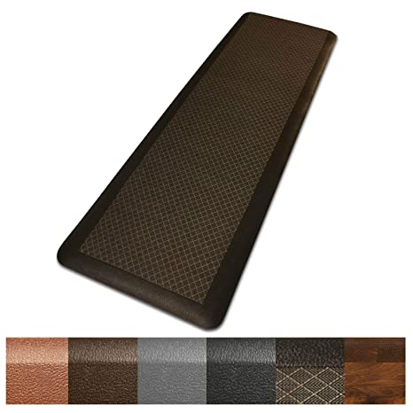 Kitchen Mat | Anti Fatigue Mat, 3/4 Thick | Ergonomically Engineered, Non