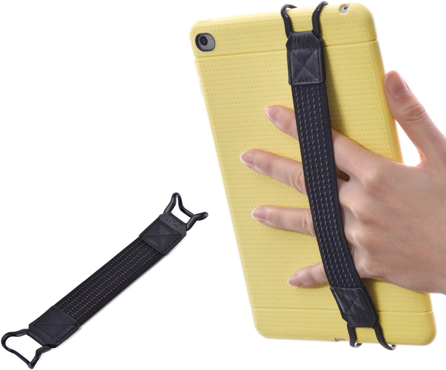 TFY Security Hand-Strap for Tablets -Compatible with iPad (New iPad/iPad Mini & Mini 2 & Mini 3 / iPad Air/iPad Air 2 / iPad Pro 9.7 Inch) - Samsung Tablets - Nexus 7 / Nexus 10 and More