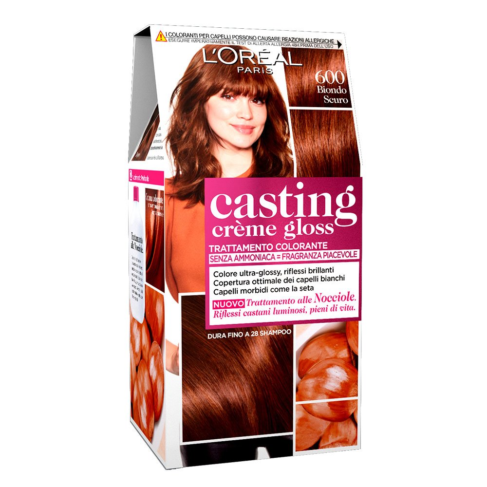 L'Oréal Paris Colorazione Capelli Casting Crème Gloss, Tinta Colore senza Ammoniaca, Fragranza Piacevole, 100 Liquirizia A8897328