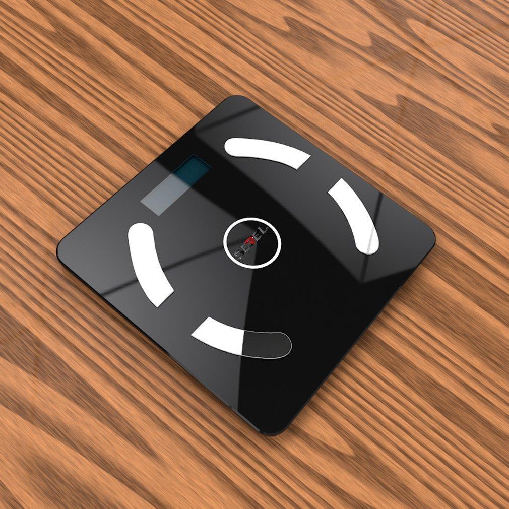 Screl - Báscula inteligente de análisis corporal (IMC, peso, grasa, músculo, agua, masa ósea y necesidades calóricas) con Bluetooth: Amazon.es: Deportes y ...