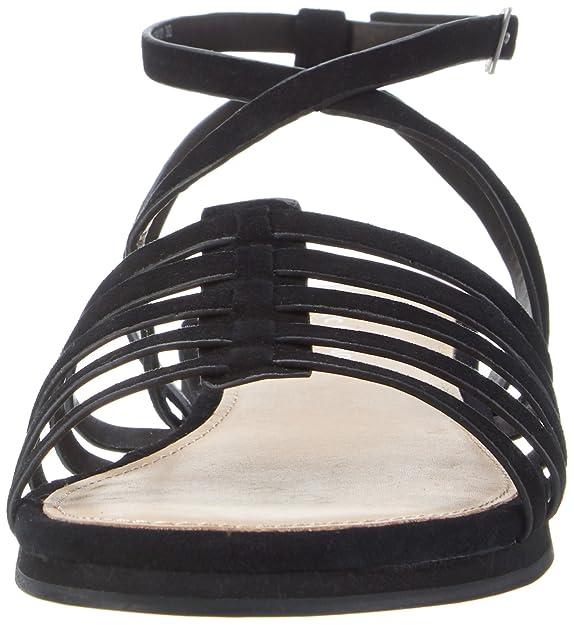 70313981101302 Sandal, Sandalias de Gladiador para Mujer, Verde (Oliv 415), 39 EU Marc O'Polo