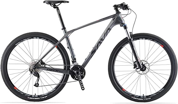 SAVADECK Carbon Fiber Mountain Bike