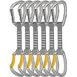 Petzl Djinn Axess Quickdraws - 6 Pack w/ Keychain Light