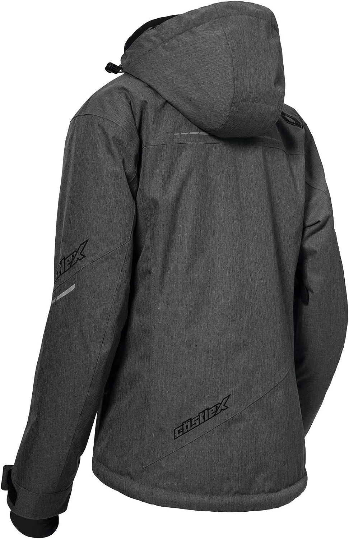Castle X Powder G2 Womens Snowmobile Jacket LRG Heather Gray