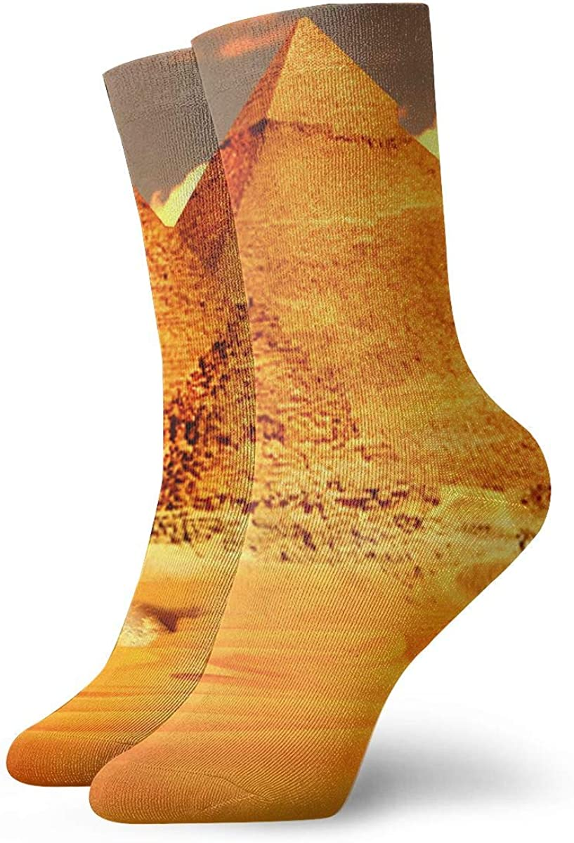 Unisex ANKLE Socks Mens Womens 5-8 UK FANCY HAPPY INCA PYRAMIDS SALE !