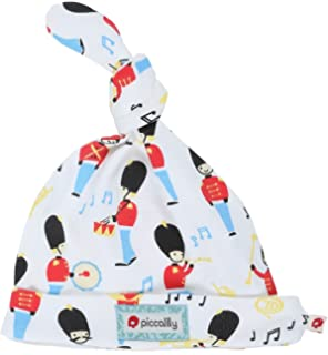 Piccalilly Organic Cotton Multicoloured Unisex Marching Band Knotted Hat c663b000020e