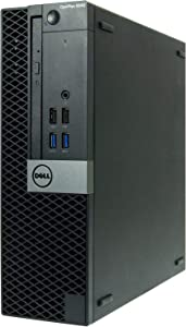 Dell Optiplex 5040-SFF, Core i7-6700 3.4GHz, 16GB RAM, 512GB Solid State Drive, DVD, Windows 10 Pro 64Bit (Renewed)