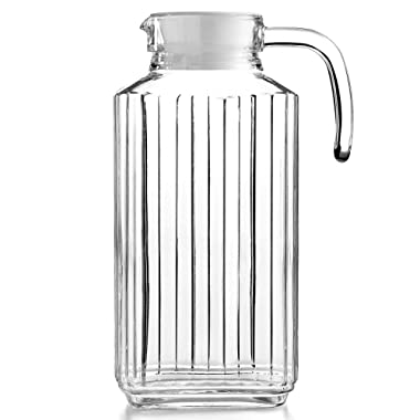 Martha Stewart Collection Glass Pitcher, 57 Oz.