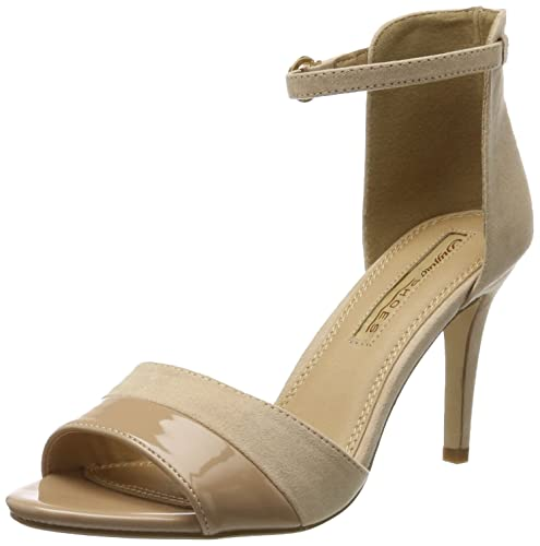 312339 IMI Suede Pat PU, Womens Ankle Strap Sandals Buffalo