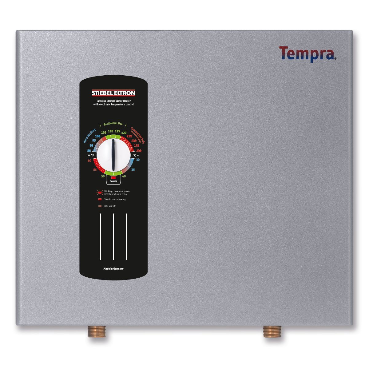 Stiebel Eltron Tempra 12 kW, tankless electric water heater with Self-Modulating Power Technology