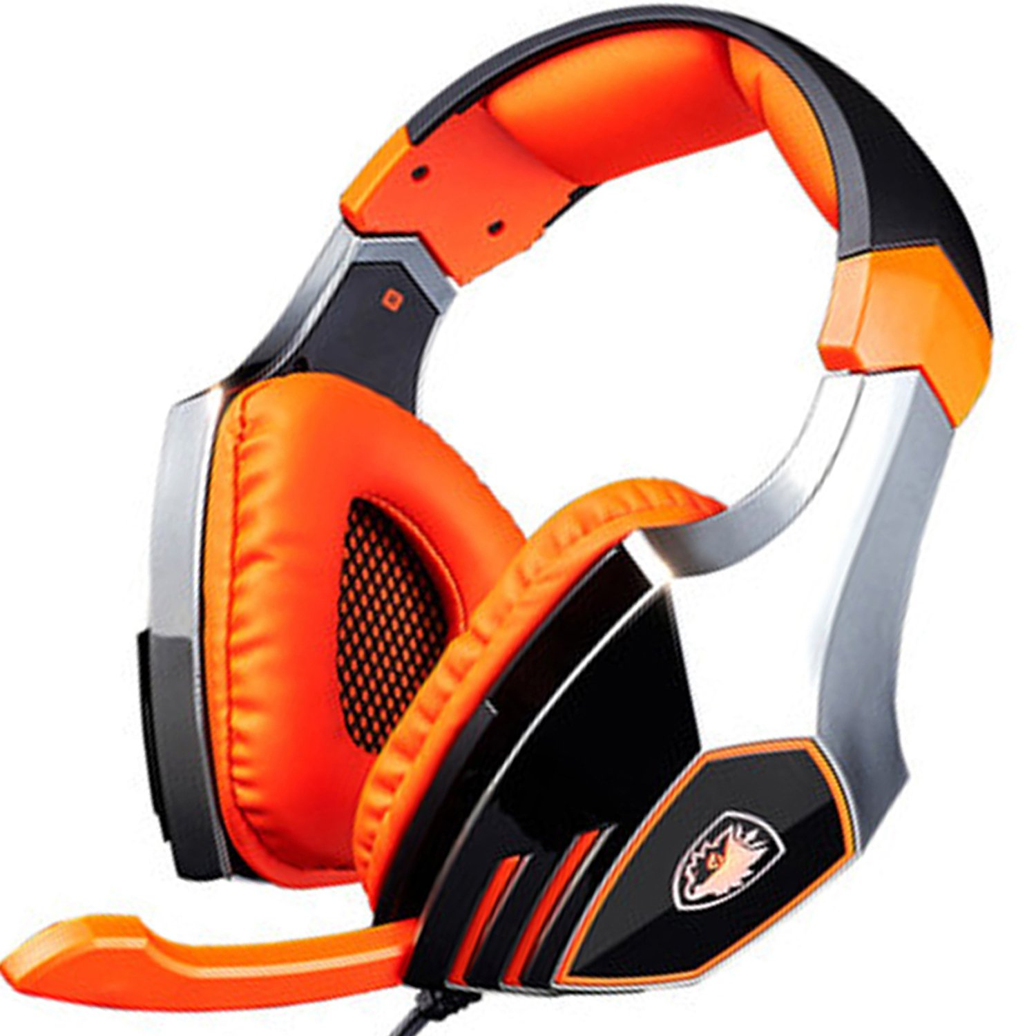 Auriculares Gamer : SADES A60 Ele s con Mic. Orange