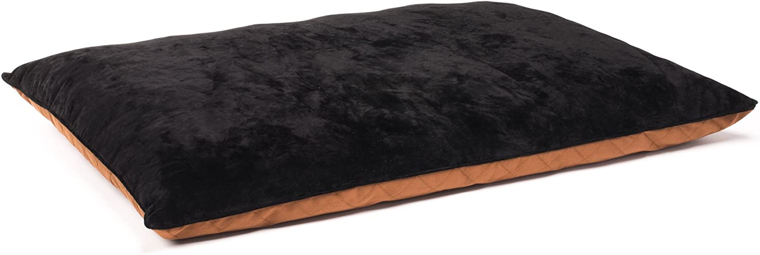 Romilton – The Kolby Premium Chipped Orthopedic Memory Foam Dog Bed. Water Resistant Cover is Removable and Washable.