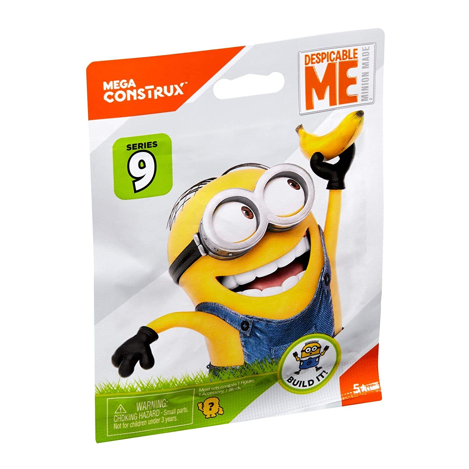 Mega Bloks Despicable Me Minion Made Mystery Minions Series 9 Mystery Pack MTDKW82A