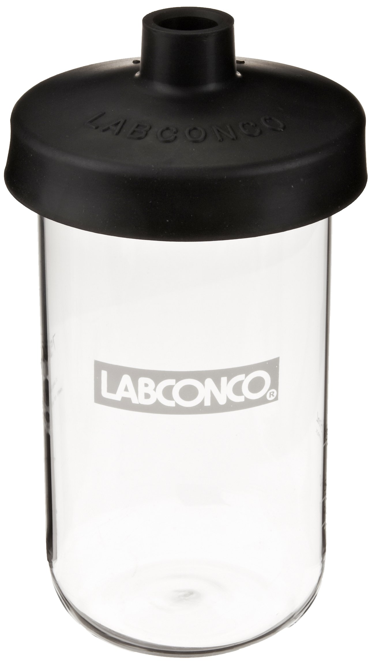 Labconco Fast Freeze 7541100 Borosilicate Glass Wide Mouth Flat Bottom Complete Flask, 750ml Capacity by Labconco