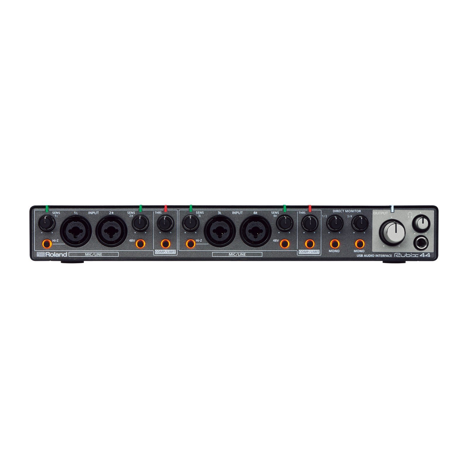 Roland RUBIX44 | 4 x 4 USB Audio Interface for Mac PC and iOS