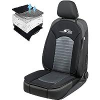 Car Comfort 11652 Autostoelhoes, bekleding S-Race in antraciet / zwart