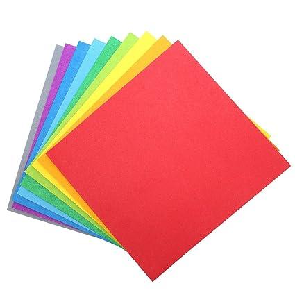Amazon 9 color cardstock paper pack 54pc 8 x 8 color 9 color cardstock paper pack 54pc 8 x 8 color pages m4hsunfo