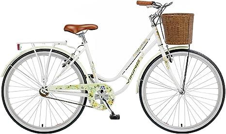Viking Willow 2014 - Bicicleta clásica para mujer blanco blanco ...